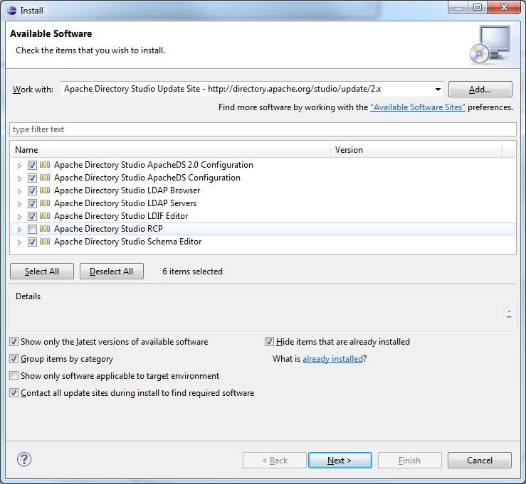 Tutoriel sur le projet LDAP Apache Directory (serveur