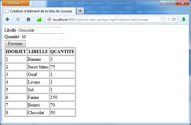 Fabulous Tutoriel sur la réalisation d'application Web simple avec Spring HW36